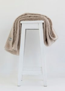 mohair throw paper-ecowool