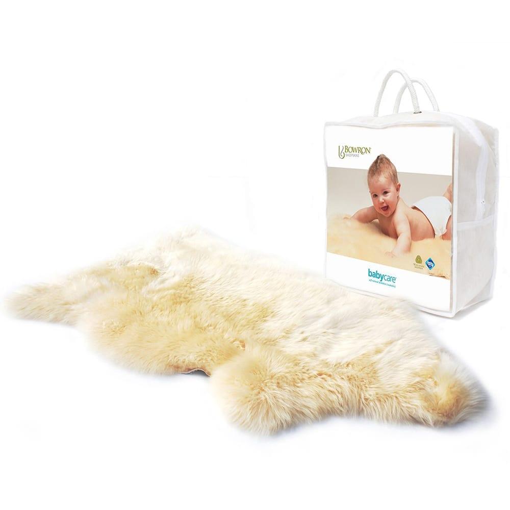 Bowron babycare sheepskin rug