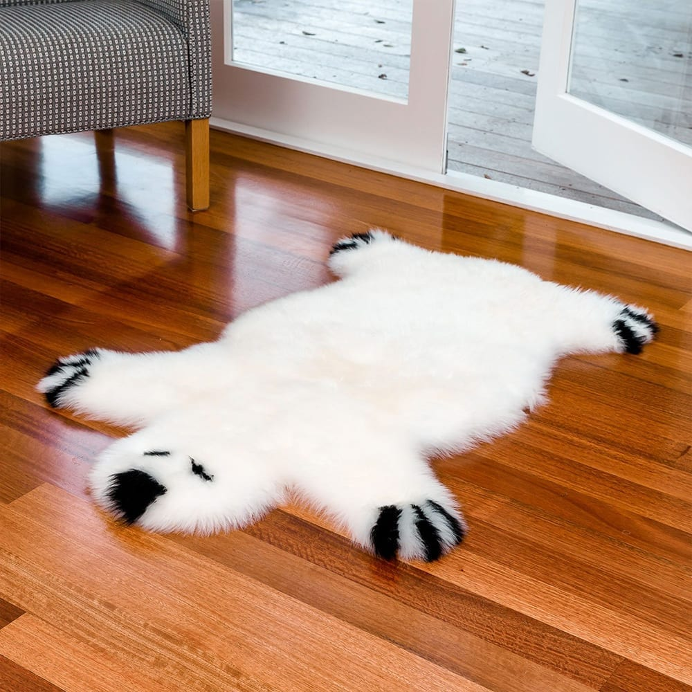 Sheepskin rug for children Bowron bear-rug