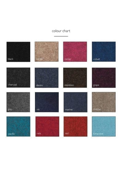 Ecowool Colour Chart
