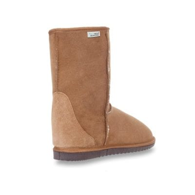 ecowool sheepsking boots low chestnut