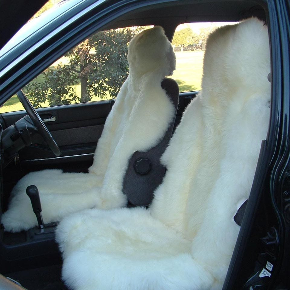 Car Seat Cover - Sheepskin at Ecowool