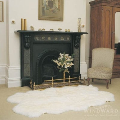 Windward Sheepskin Quad Rug